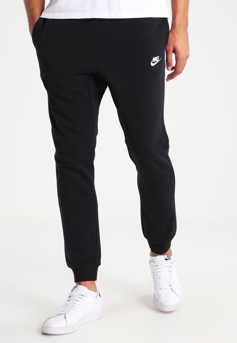 Nike Sportswear - CLUB FRENCH TERRY - Träningsbyxor - black/white