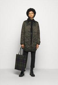 Barbour - PEPPERGRASS QUILT - Winter coat - sage - 1