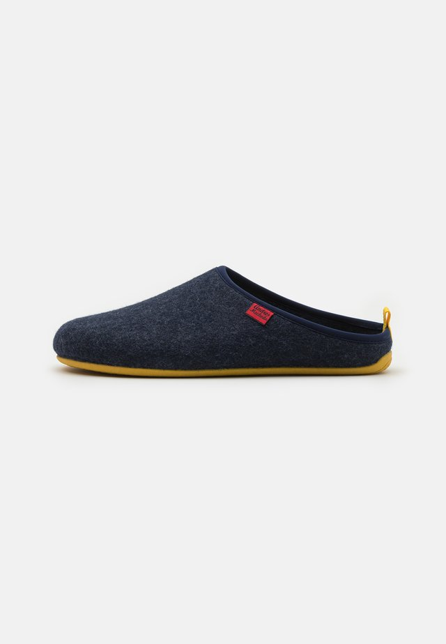 DYNAMIC UNISEX - Tofflor & inneskor - blue/yellow