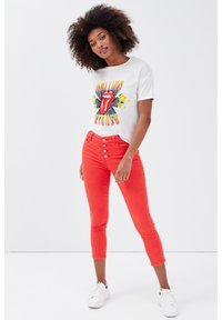 Cache Cache - Trousers - rouge - 1