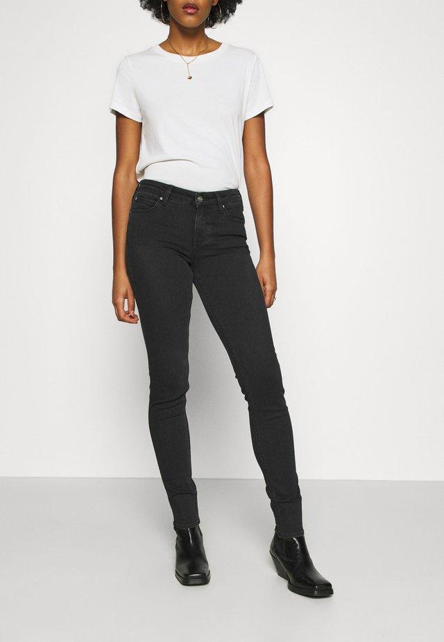 SCARLETT BODY OPTIX - Jeansy Skinny Fit - black denim