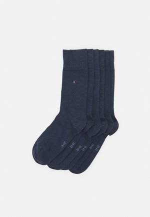 MEN SOCK ECOM 6 PACK - Strumpor - blue