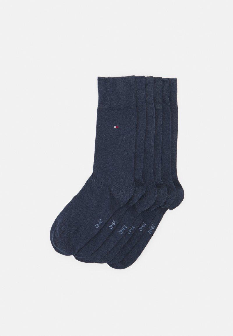 Tommy Hilfiger - MEN SOCK ECOM 6 PACK - Socks - blue