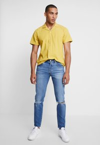 Levi's® - 501® SLIM TAPER - Jean slim - ironwood dx - 1