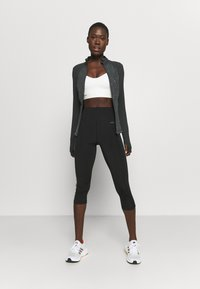 Sweaty Betty - POWER WORKOUT ZIP THROUGH JACKET - Sports jacket - grey - 1