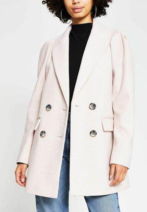Pitkä takki - pink