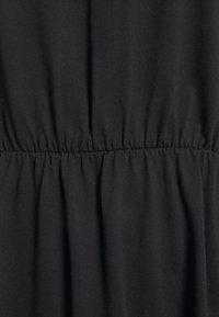 Vila - VIDREAMERS V-NECK DRESS - Day dress - black - 2