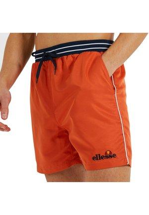 Shorts - orange foncé