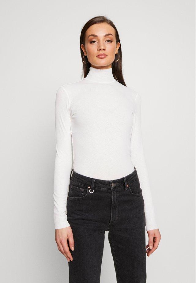 JAVA  - Pitkähihainen paita - white