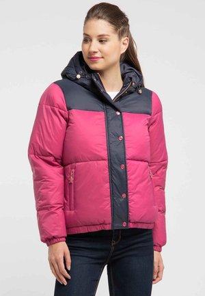 Winter jacket - navy/pink