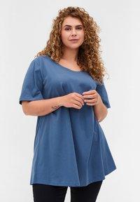 Zizzi - Basic T-shirt - grey - 0