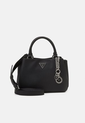 AMBROSE TURNLOCK SATCHEL - Handbag - black