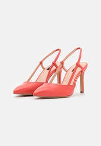 ONLY SHOES - ONLPEACHES SLING BACK - High heels - coral - 2
