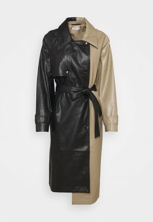 MARIE COAT - Trenchcoat - black/sand