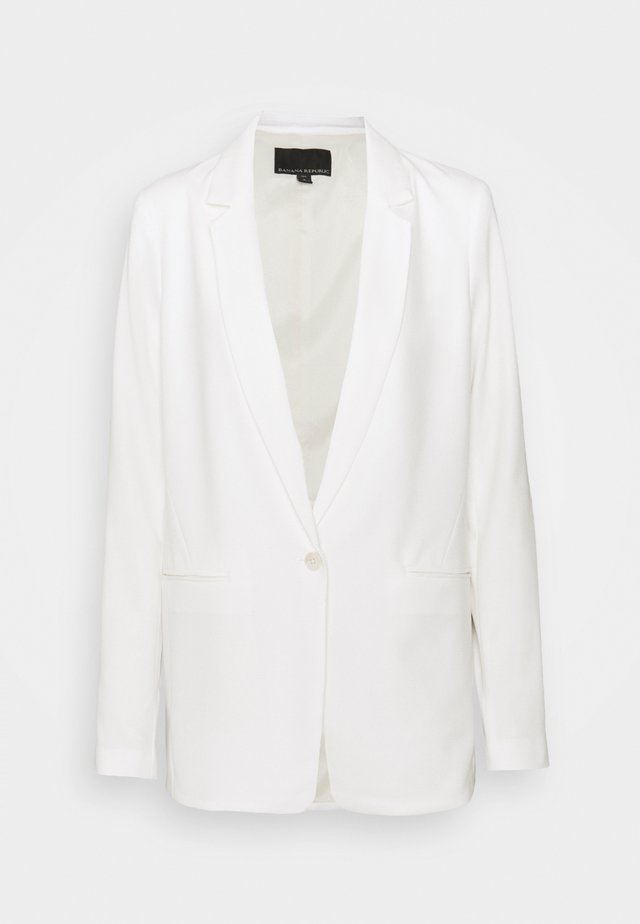 EASY SOLIDS - Blazer - transition cream