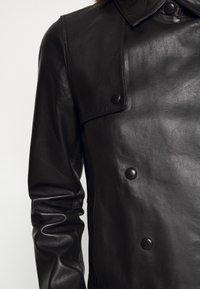 Oakwood - HARMONY - Leather jacket - black - 6
