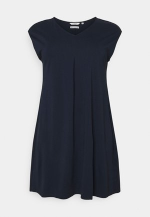 DRESS COZY BASIC - Jersey dress - sky captain blue