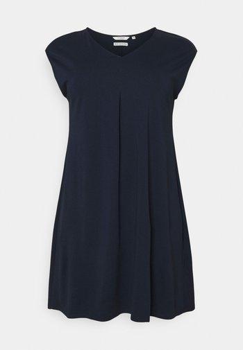 DRESS COZY BASIC - Jersey dress - sky captain blue