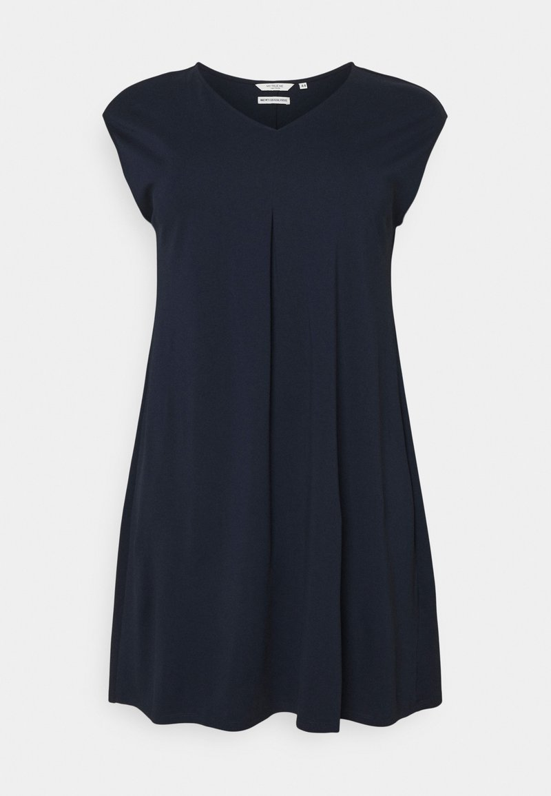 MY TRUE ME TOM TAILOR - DRESS COZY BASIC - Jersey dress - sky captain blue