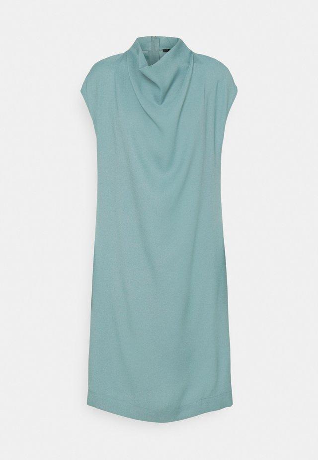 DRESS - Korte jurk - dark turquoise