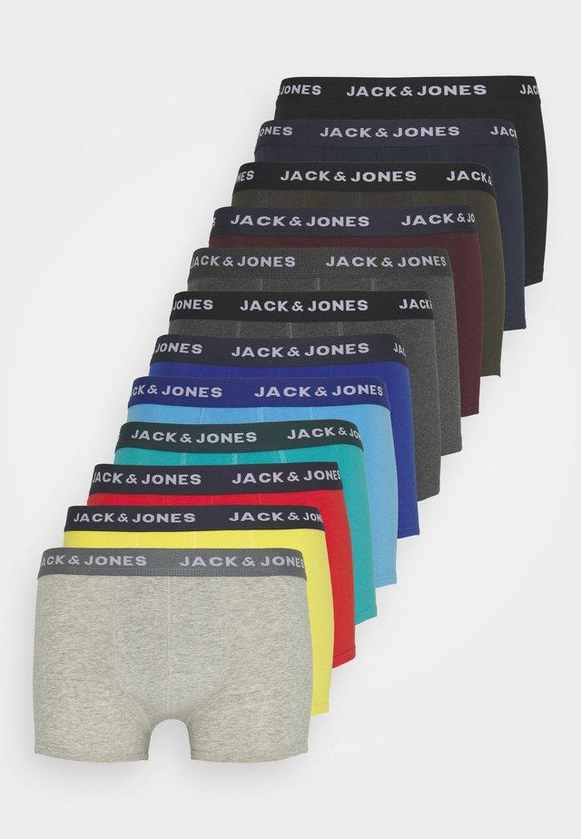 JACSOLID TRUNKS 12 PACK - Underbukse - navy blazer/black/firey red