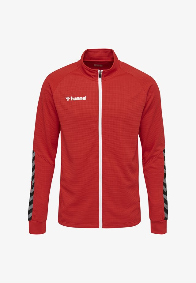 HMLAUTHENTIC  - Training jacket - red