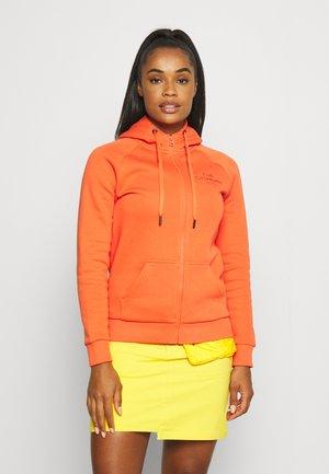 ORIGINAL ZIP HOOD - Zip-up sweatshirt - zeal orange