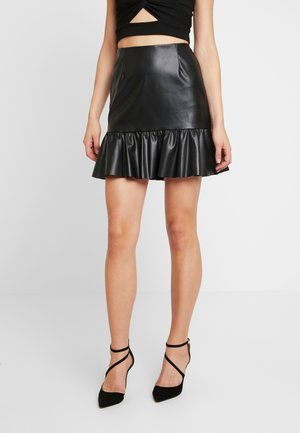 BXDAKE SKIRT - Mini skirt - black