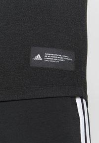 adidas Performance - T-shirts basic - black - 4