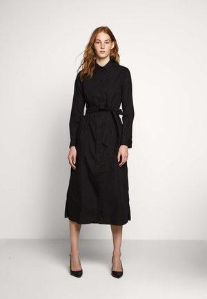 VALERIE - Shirt dress - black