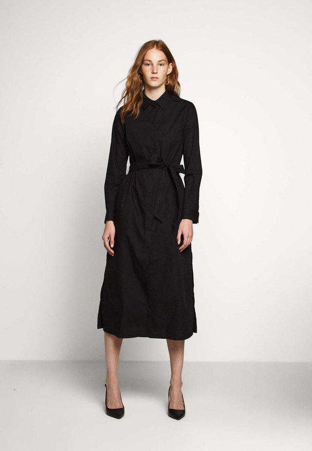 VALERIE - Shirt dress - black