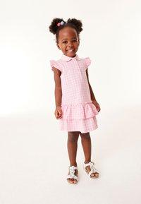 Next - Shirt dress - pink - 0