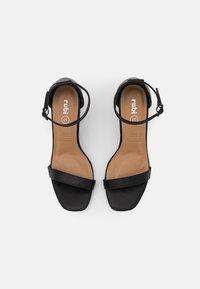 Rubi Shoes by Cotton On - SAN SQUARE TOE - Sandały - black - 5