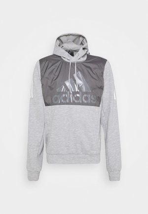 MUST HAVES AEROREADY SPORTS HOODED  - Hættetrøjer - medium grey heather