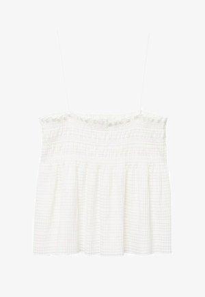 Bluser - gebroken wit