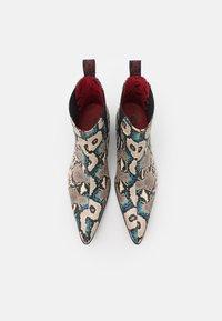 Jeffery West - SYLVIAN NEW CHELSEA UNISEX - Cowboy/biker ankle boot - dark blue - 3