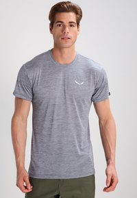 Salewa - PUEZ DRY TEE - T-shirt basic - quiet shade melange - 0