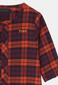 TINYCOTTONS - CHECK UNISEX - Overal - navy/red - 2