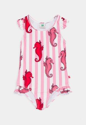 SWIMWEAR SUIT SEAHORSES - Badeanzug - pink