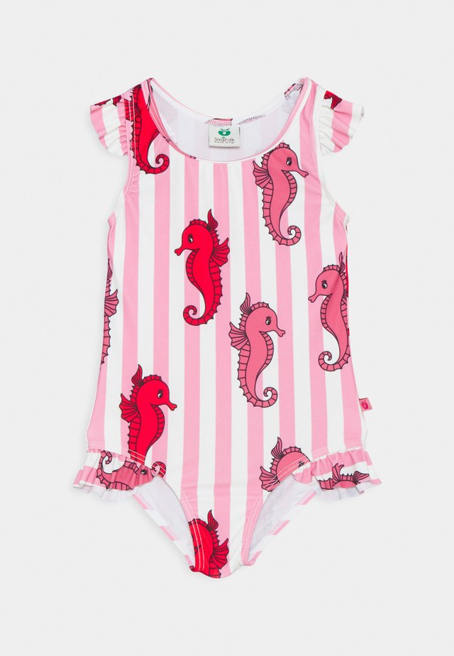 SWIMWEAR SUIT SEAHORSES - Swimsuit - pink