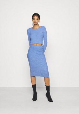 KYLIE LOUNGE SET - Svetr - cornflour blue