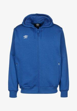 Zip-up hoodie - tw royal / white