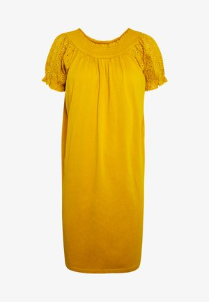 ONLVANNA DRESS - Jersey dress - golden yellow