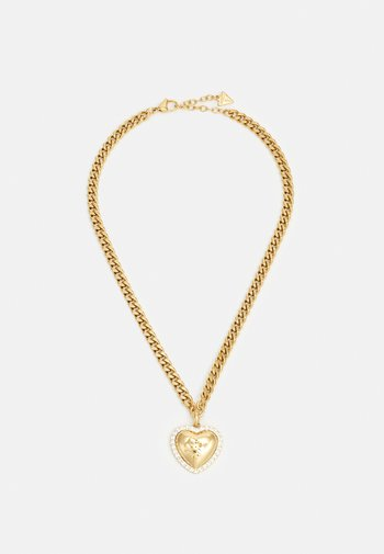 THAT'S AMORE - Necklace - yellow gold-coloured