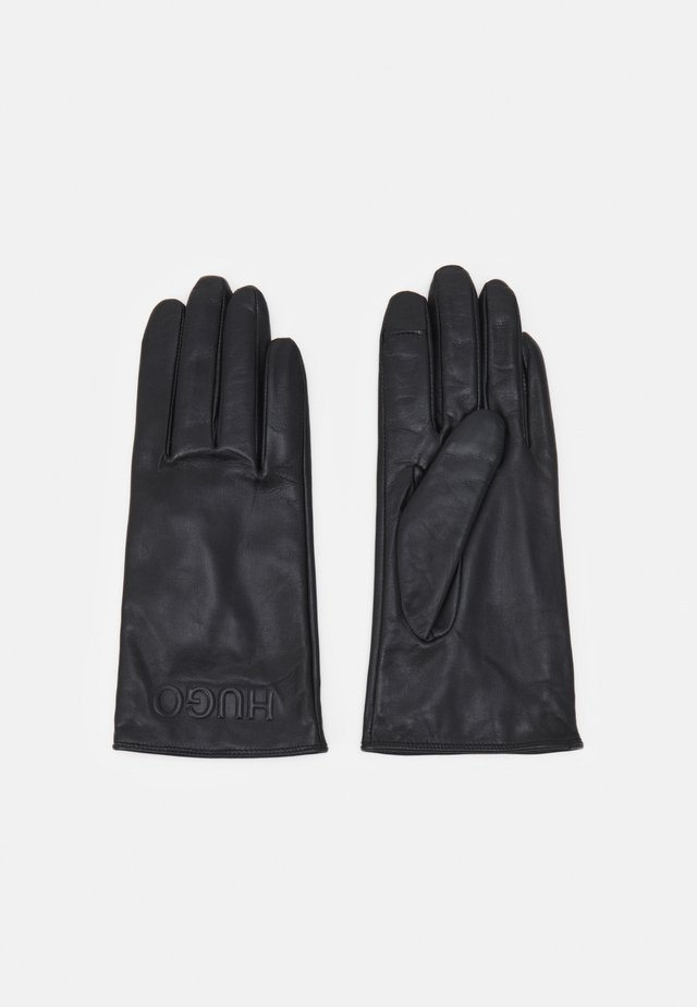 LOGO GLOVES - Gants - black