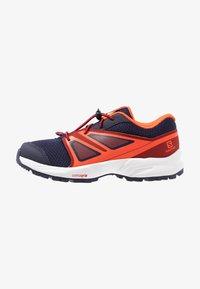 Salomon - SENSE - Hiking shoes - evening blue/red dahlia/cherry tomato - 1