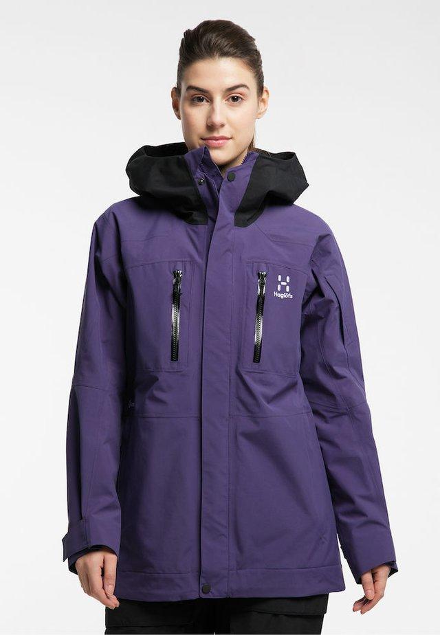 ELATION GTX JACKET  - Snowboard jacket - purple rain/true black