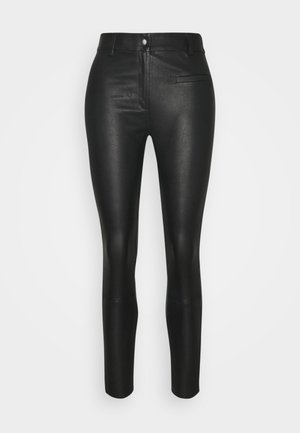 SLFURBAN STRETCH PANT - Leggings - black