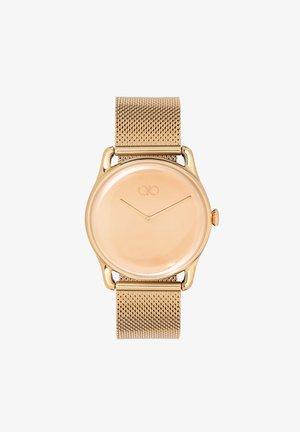 UHR REFLEXION GOLD GOLD MESH 38MM - Horloge - mirror gold
