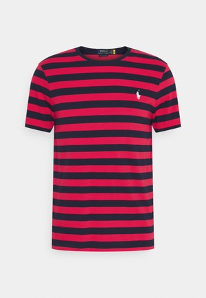 Print T-shirt - racing red/french